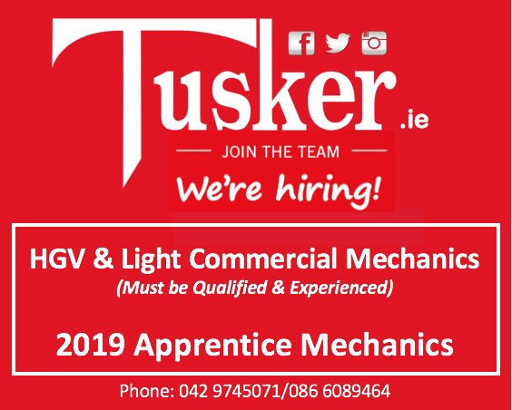 Tusker Mechanic Jobs